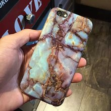 New Design Marble surface pattern Style Phone Case Hard PC Funda Case for iPhone6 6s 6/6s plus Phone Case Coque for Apple
