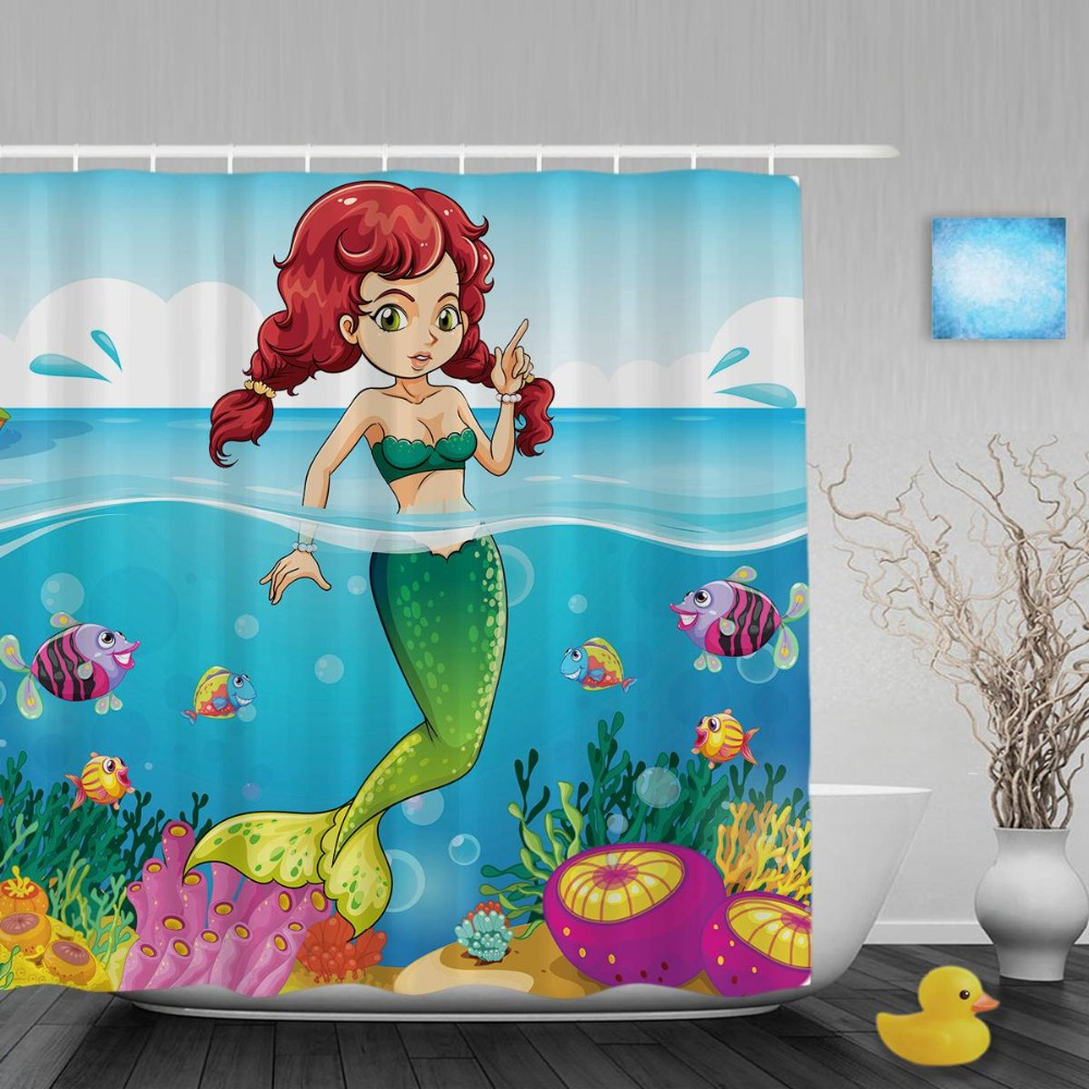 Delightful The Little Mermaid Bathroom Decor Enwe, Bathroom Decor