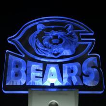 ws0012 Chicago Bears Bar Beer Pub Day/ Night Sensor Led Night Light Sign(China (Mainland))