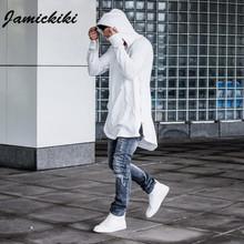 Jamickiki 2016 Spring Autumn Hoodies Full Sleeve Kangaroo Pocket Side Zippers Streetwear Hip Hop Hoodies Men Sudaderas HombreH03(China (Mainland))
