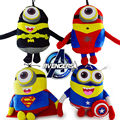 23cm Spiderman Superman Batman Ironman Captain America Raytheon Cartoon Movies Animation Children Plush Toys
