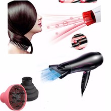 2015 New Style Foldable Hairdressing Silicone Curly Hair Blow Dryer Diffuser Salon Barber Tool