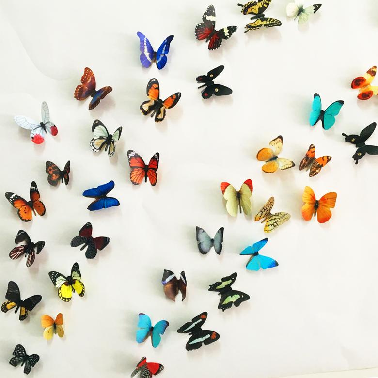 3d butterfly wall decor wall sticker butterflies on the vinyl wall decals