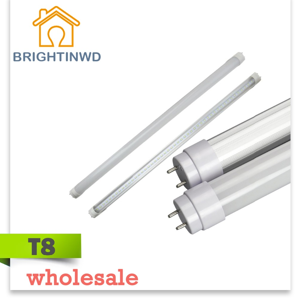 t8 G13 LED tube linestra strip light 600mm Integrated 2835 9W dimmable CFL halogen CE rohs LED T8tube wholesale Using DHL or EMS(China (Mainland))