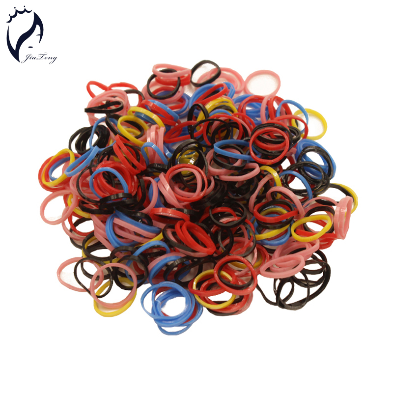 2016 New Trendy Rubber Bands 1cm 600pcs/bag Kids Baby Child Elastic Hair Band Tie Rope Braid Hair Style Free Shipping Promotion(China (Mainland))