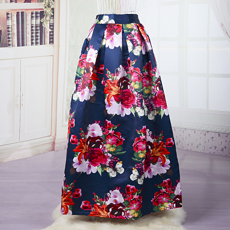 Amazing Pink Long Cotton Skirt  Clothing  Sale On Bags Skirts Jewelry At