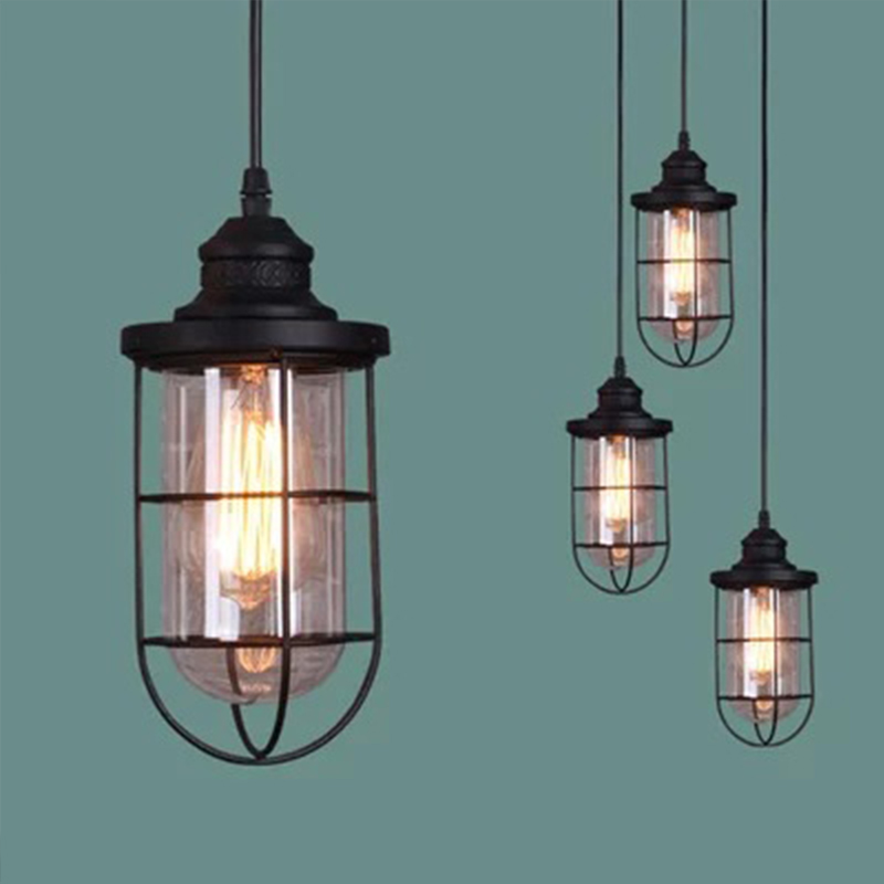 new antique countryside vintage pendant light/lamp small personalized cage lamp etro Incandescent Bulb<br><br>Aliexpress