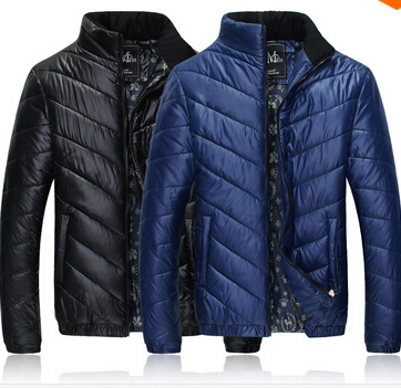 2015 Hot mens winter jacket men s hooded wadded coat outerwear male slim casual cotton outdoors