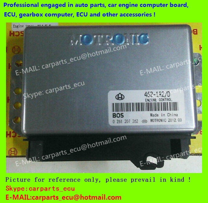 For Hafei/FLYER car engine computer board/ECU/ Electronic Control Unit/Car PC/ 0261207262 462-1A2/D /driving computer(China (Mainland))