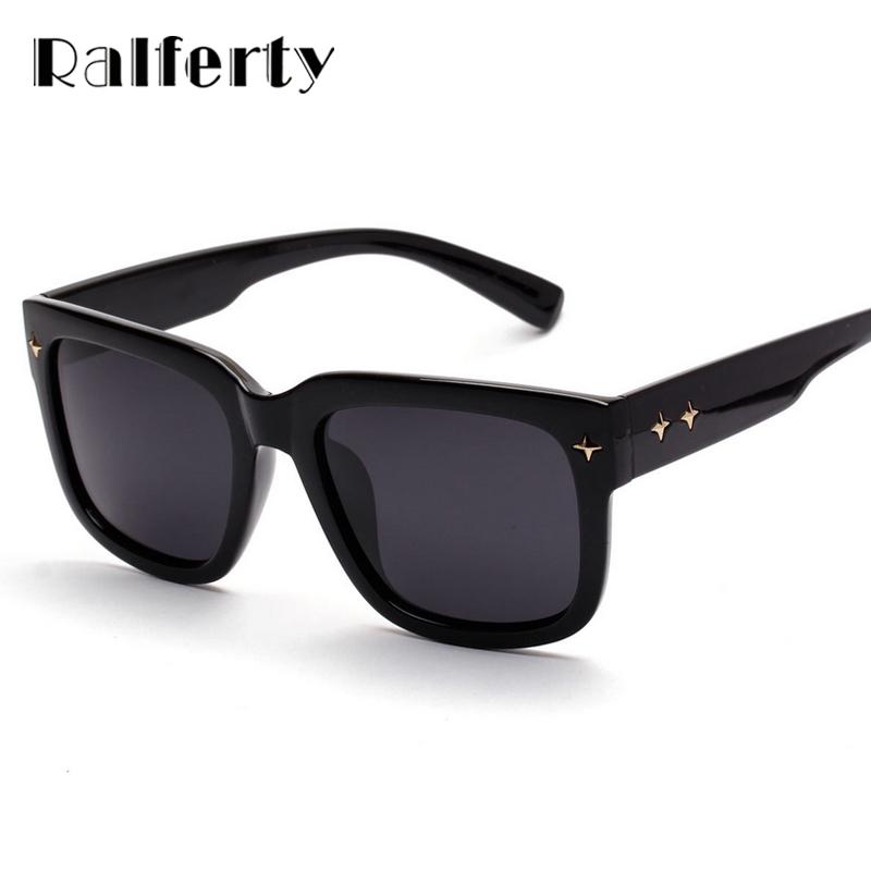 Glasses Frame Coating : Ralferty Mens Sunglasses Brand Designer Square Frame ...