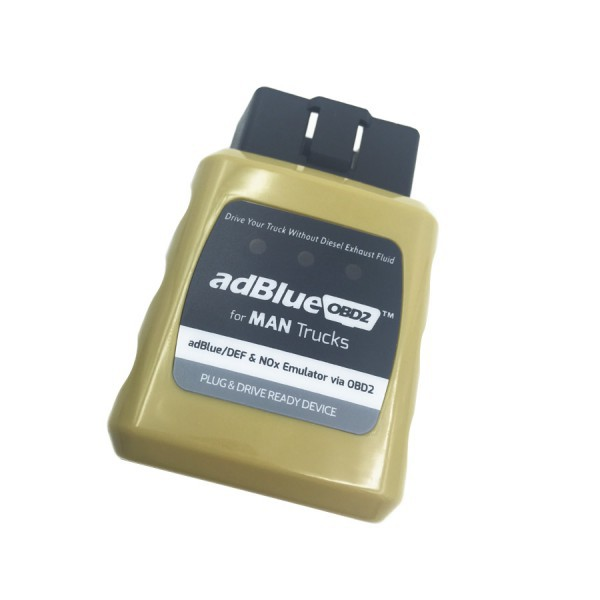 2015 wholesale best quality AdblueOBD2 Emulator for MAN Trucks Plug and Drive Ready Device by OBD2 free shipping(China (Mainland))