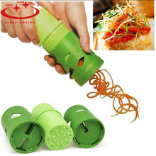 Kitchen Accessories Tool Cooking Tools Compact Vegetable Fruit Twister  Cutter Slicer Utensil Processing Device(China (Mainland))