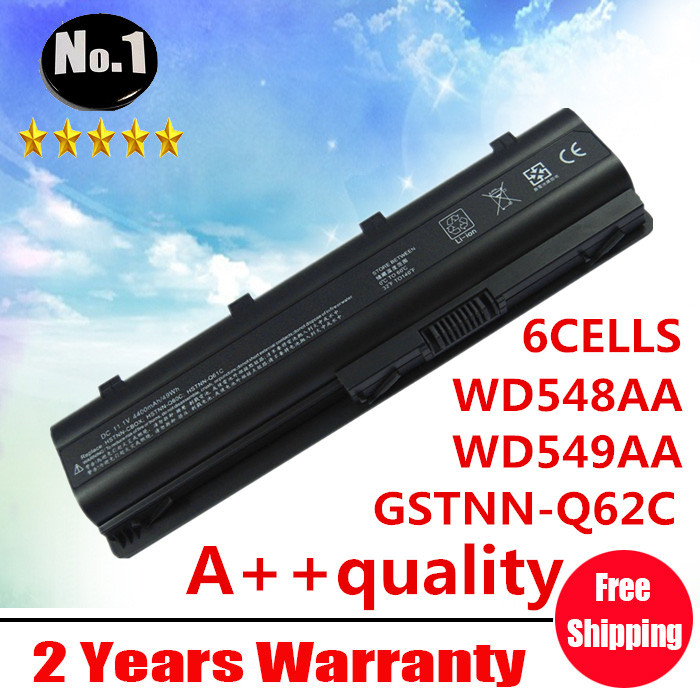 Wholesale New 6 cells laptop battery MU06 MU09 NBP6A174 NBP6A174B1 FIT FOR HP PAVILION g4 dv7 DV6 SERIES free shipping(China (Mainland))