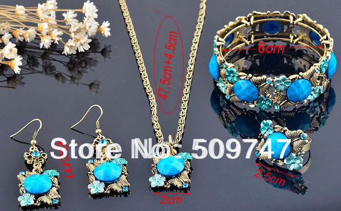 Top Quality Vintage Jewelry Sets for Women NE-072