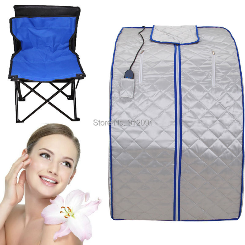 Amonstar Portable FIR/Far Infrared Sauna Slimming Room Full Body Lose Weight Spa Tent w/ Footpad(China (Mainland))