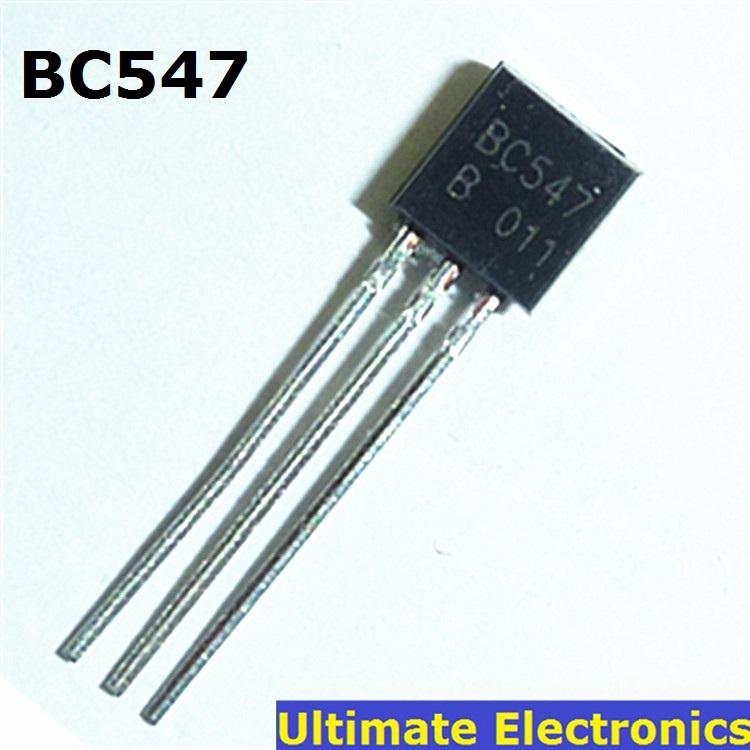 50pcs BC547 45V 0.1A TO 92 NPN Transistor-in Transistors ...