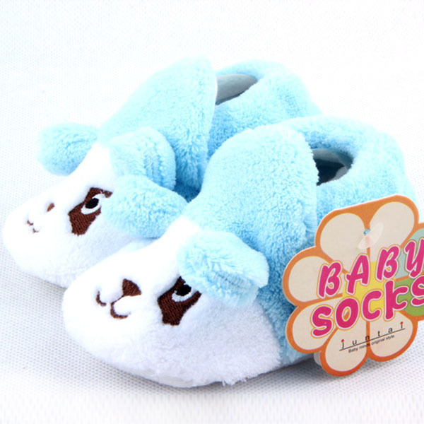 Baby Infant Cotton Shoes Boy Girls Animal Soft Sole Cozy Toddler Socks - Judy......Store store