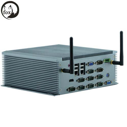 6*USB RS232/422/485 1037U 1.8GHz dual-core CPU Embeded min pc Embeded industrial computer(China (Mainland))