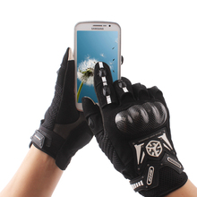 Motorcycle Gloves Carbon Fiber  Drop Resistant Protective Non-slip Gloves Touch Screen Guantes Luvas Alpine Motocross Stars