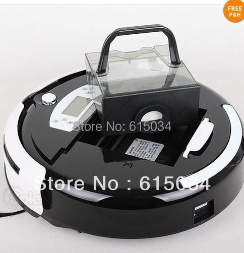 (Free Shipping For Australia Buyer) 4 In 1 Multifunctional Robot Vacuum Cleaner with remote controller,UV lights,Auto Recharged(China (Mainland))