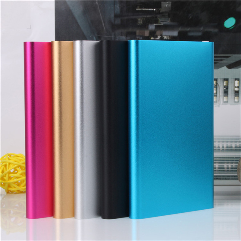 Universal 5600mAh Power Bank New Style Slim USB External Backup Battery Charger For All Phone USB Cable Power Bank(China (Mainland))