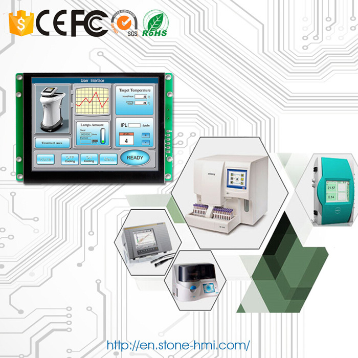 """Embedded/ Open frame 8"""" 800x600 LCD display module with controller board(China (Mainland))"""