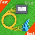 KELUSHI FTTH 1 8 PLC Box Splitter Telecommunication Fiber Splitter 1 Points 8 Cassette Optical splitter