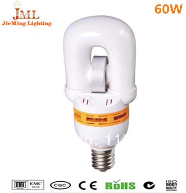 HOT saes!! 60W 4800lm saving energy light induction lvd light 2700k~6500k 85Ra 100,000hrs free shipping(China (Mainland))