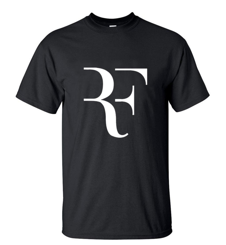 Summer Fashion Rf T Shirt Mens Roger Federer Tee Shirt