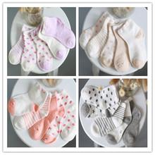 ( 10 pieces/lot=5pair ) 100% cotton Baby socks newborn floor socks kids cotton short socks girl and boy socks  ZS8698 ZT(China (Mainland))