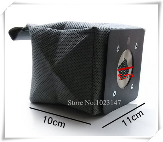 Free Shipping ! Vacuum Cleaner Bags 11cm*10cm Non-woven Bag Dust Filter Bags for d957 d-957,Electrolux etc.(China (Mainland))