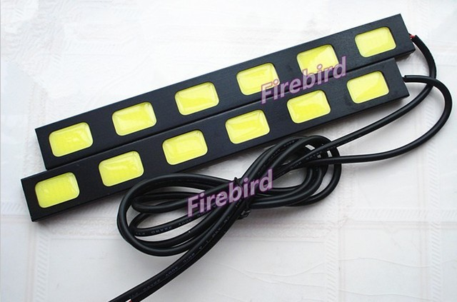 12W high power 6COB*2 led DRL(daytime running lights), cold white fog lights, driving lights, E4 waterproof