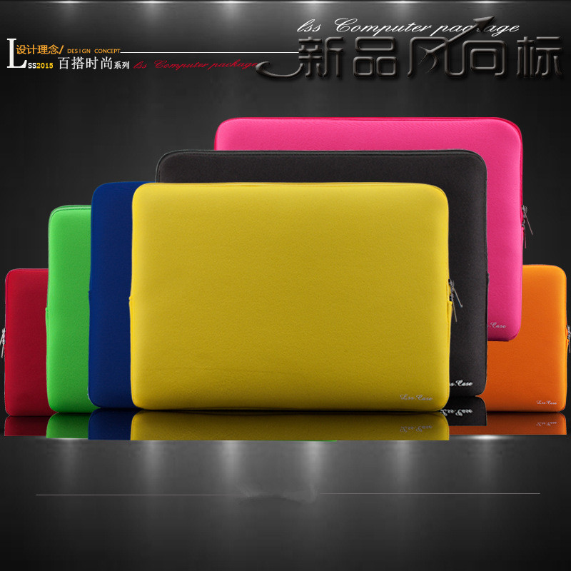 "Notebook Bag Smart Cover For MacBook Air Pro Retina 11"" 12'' 13"" 15'' Laptop Sleeve Case Laptop Bag For ipad 2/3/4 AIr/AIr2(China (Mainland))"