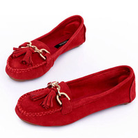 Женская обувь на плоской подошве 2015 toe