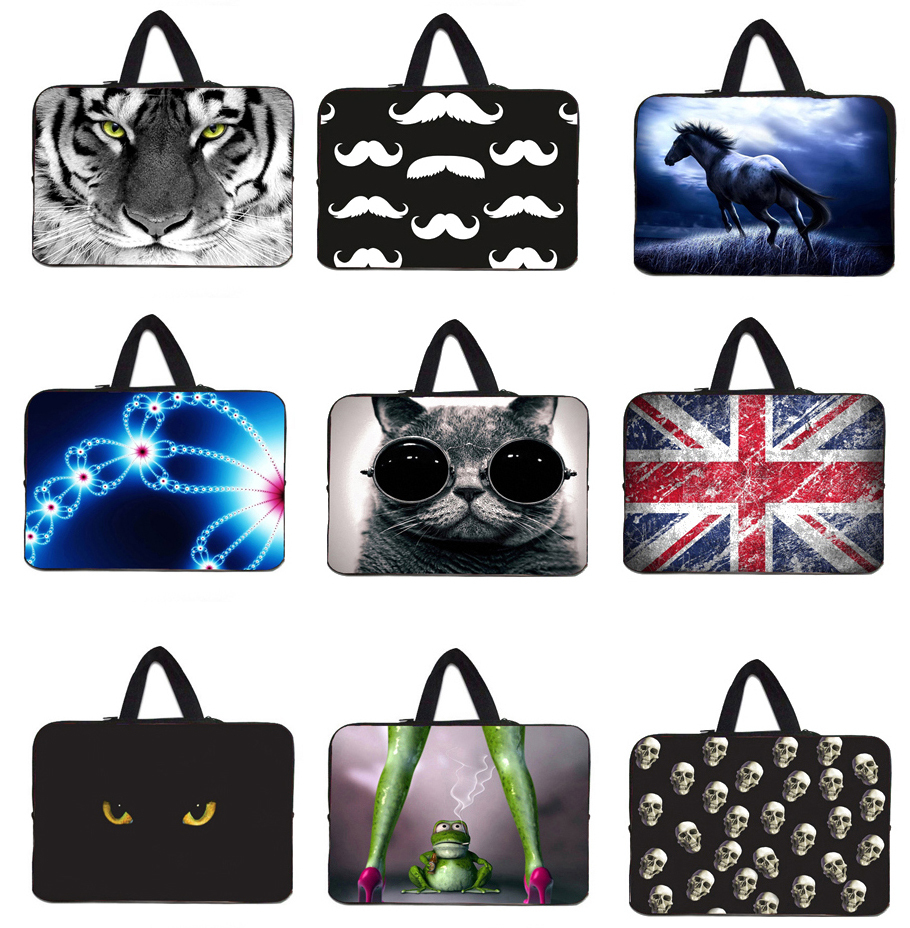 Free Shipping Laptop Sleeves Cute Eyes Bags For Laptops Tablet Bag For Case Macbook Air 13 13.3 13.4 inch Accessories Notebook(China (Mainland))