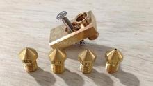 Ultimaker 2 + UM2 + Extended Olsson block heater hotend nozzle for 3.00mm filament 3D printer DIY part