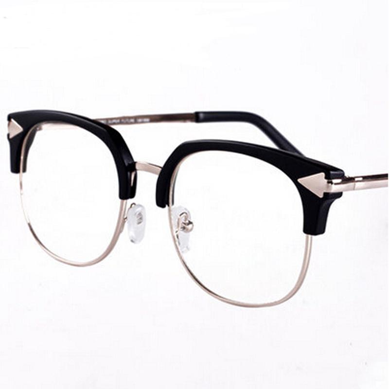 Glasses Frame Fashion 2016 : Fashion metal eyeglasses frame women oculos 2016 Designe ...