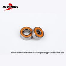 KUYING Original Thunder reel coil wheel Ceramic Bearings spare parts(1 pair = 2 pieces)(China (Mainland))