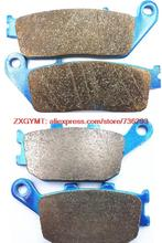 Sinter Motorcycle Brake Pads Set fit HONDA VT1100 VT 1100 C2 Shadow Sabre 2000 & - ZXGYMT Accessories store