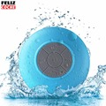 Blue Waterproof Wireless Bluetooth Speaker Car Handsfree Portable Subwoofer Call Music Suction Mic For IOS Android