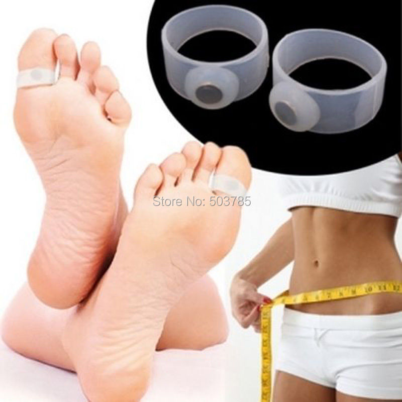 Magnetic Foot Massager Toe Ring Weight Loss Slimming ...