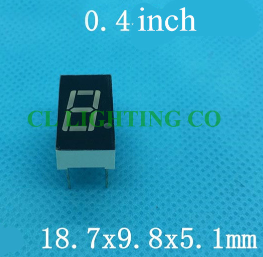 Common CATHODE 0.4 inch EL products red digital tube seven Segments display(Nixie tube)(China (Mainland))