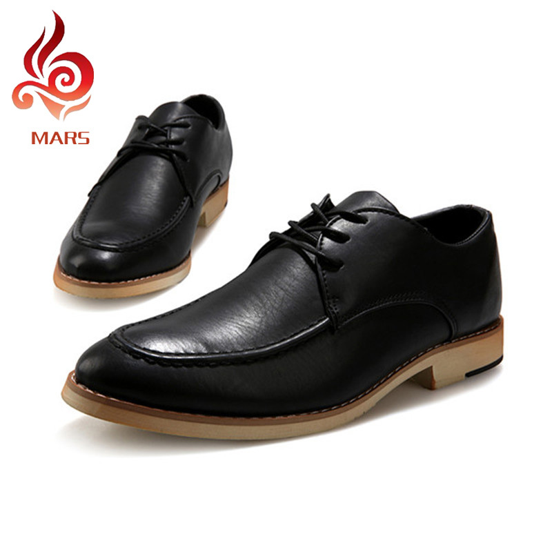 2015 Men Brogues Shoes Leather Office Dress Suit Summer Style Oxfords Sapato Masculino Size:39-44 YCK22 - Mars House store