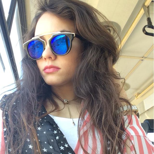 Cat Eye Sunglasses Women Brand Designer