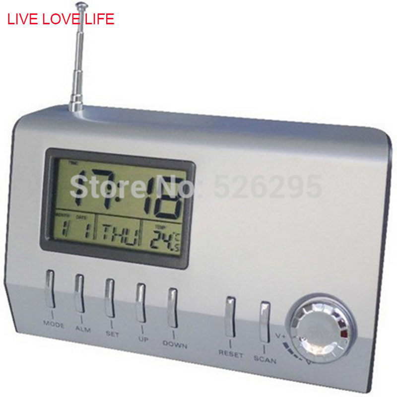 radio alarm clock from china digital photo frame with fm radio and alarm clock china clock. Black Bedroom Furniture Sets. Home Design Ideas