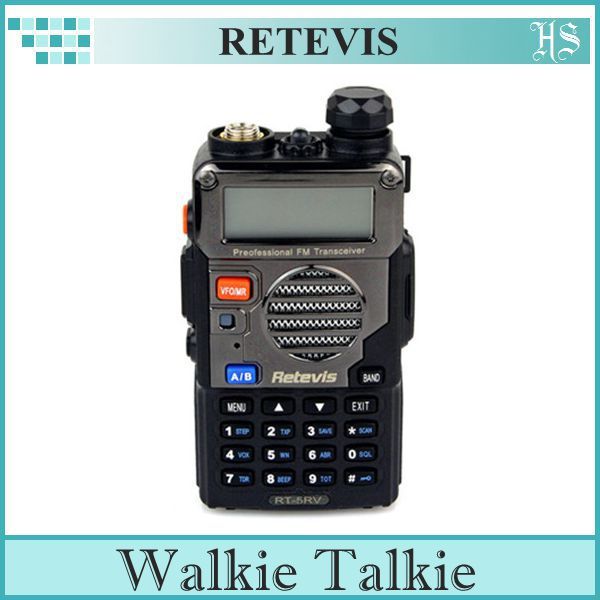 RETEVIS rt/5rv Walkie Talkie 5W 128CH + DTMF VOX FM Intherphone RT-5RV handheld 5w 15 ch 470mhz walkie talkie black 3 7v