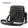 FONMOR Brand Fashion Genuine Leather Bag for Unisex High Quality Shoulder Crossbody Bags Small Satchels Cowhide