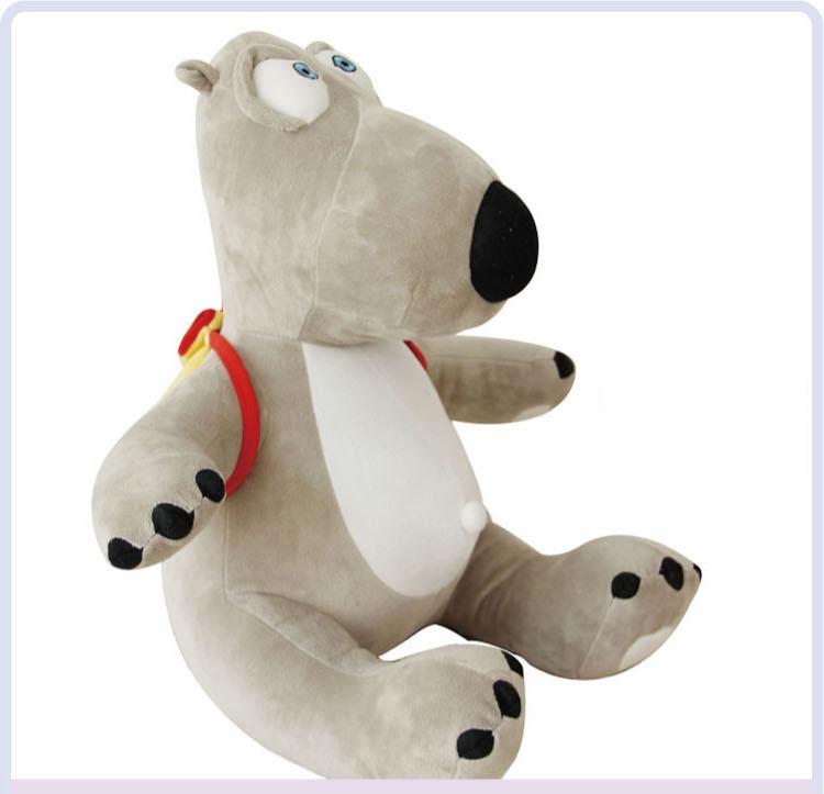 Hot sale 40CM Korea lovely Backkom plush toys polar bear stuffed toy best birthday/Christmas gift for children Top quality(China (Mainland))