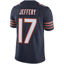Men's Alshon Jeffery #17 Navy Color Rush Limited Jersey embroidery Logos Free Shipping(China (Mainland))