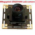 5MP 2592X1944 Autofocus USB video Surveillance camera module OV5640 CMOS mini 60 Degree autofocus PCB Camera board